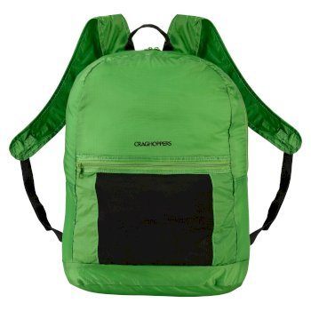 3 in 1 Packaway Rucksack - Bright Green