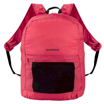 3 in 1 Packaway Rucksack - Red