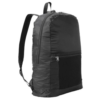 3 in 1 Packaway Rucksack - Black