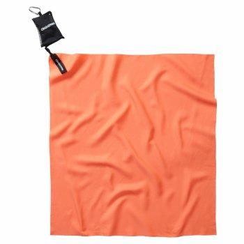 Compact Travel Towel - Orange