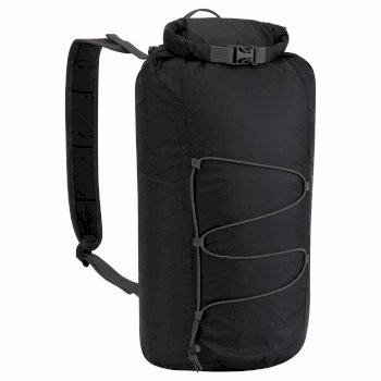 15L Packaway Waterproof Rucksack - Black