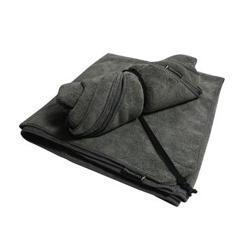 Super Large Microfibre Travel Towel - Charcoal