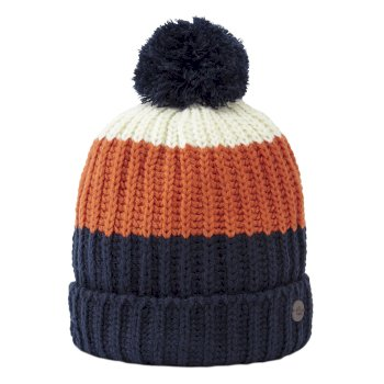 Kids Morgan Hat - Blue Navy Stripe