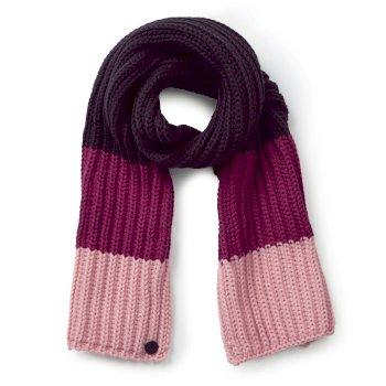2fe66e2148 Kids Morgan Scarf - Azalia Pink Stripe