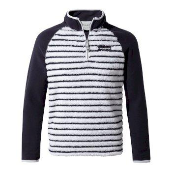 Maddiston Half-Zip Fleece  - Blue Navy stripe