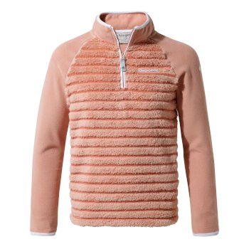 Kids' Maddiston Half-Zip Fleece  - Rosette stripe