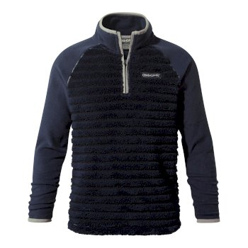 Maddiston Half-Zip Fleece - Blue Navy