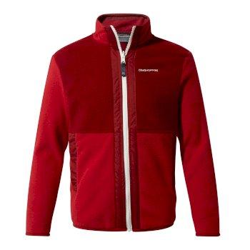 Alvese Jacke Garnet Red / Firth Red