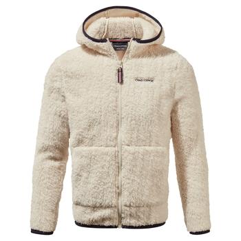 Angda Hooded Jacket - Ecru