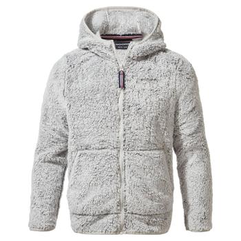Angda Hooded Jacket - Dove Grey