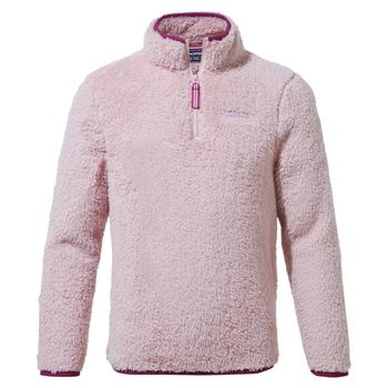 Kids' Angda Half Zip Fleece - Brushed Lilac