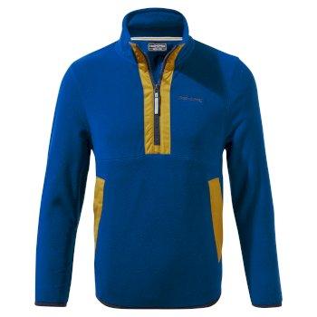 Kids' Norcross Half Zip Fleece - Poseidon Blue