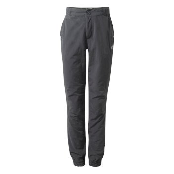 Kids' Insect Shield® Terrigal Pants - Black Pepper Marl
