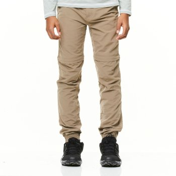 NosiLife Terrigal Convertible Trousers - Pebble