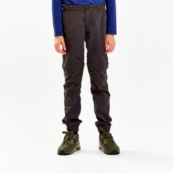 NosiLife Terrigal Convertible Trousers - Black Pepper