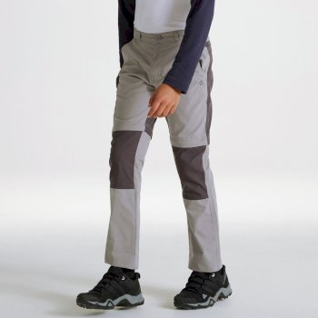 Kiwi Cargo Convertible Trousers - Cement