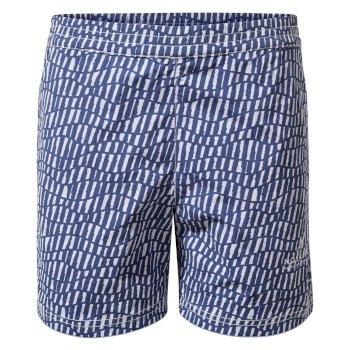 Nosilife Wade Swim Short - Lapis Blue Print