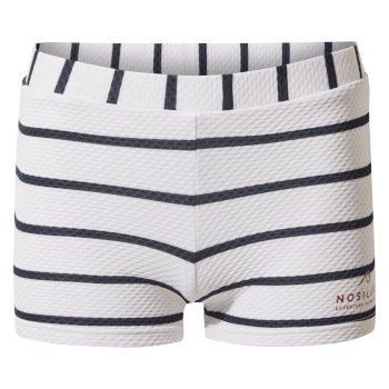 Nosilife Banho Swim Short - Blue Navy Stripe