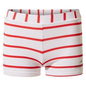 Nosilife Banho Swim Short - Rio Red Stripe