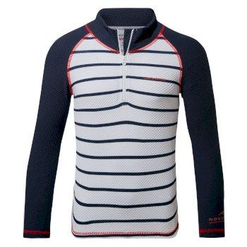 Nosilife Mozelle Rash Vest - Blue Navy  / Blue Navy Stripe