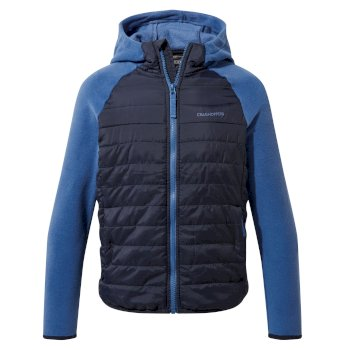 Kids' Avery Hybrid Jacket  - Blue Navy / Delft Blue
