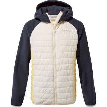 Kids' Neopol Hybrid Jacket - Seasalt / Buttercup