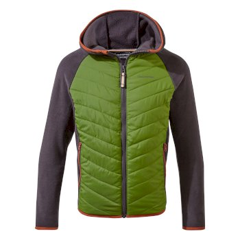 Akira Hybrid Jacket - Black Pepper / Dark Agave Green