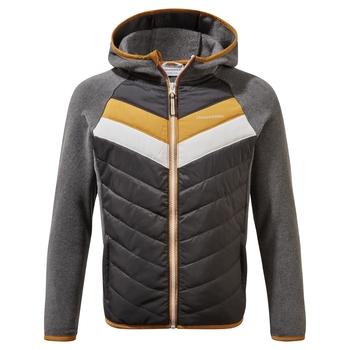 Jensen Hybrid Jacket - Black Pepper Marl / Charcoal