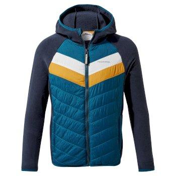 Jensen Hybrid Jacket - Blue Navy/ Poseidon Blue