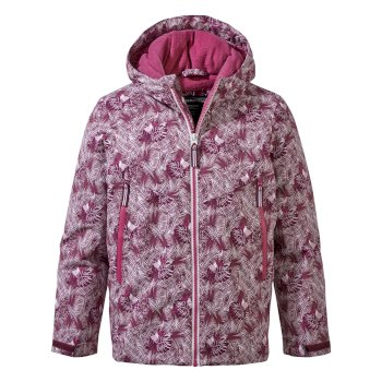 Haider Jacket - Blackcurrant Print
