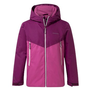 Haider Jacket - Blackcurrant / Baton Rouge