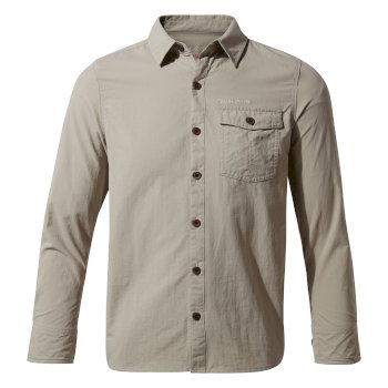 Nosilife Emerson Long Sleeved Shirt - Parchment