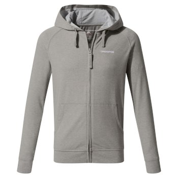 Insect Shield Ryley Hoody - Soft Grey Marl