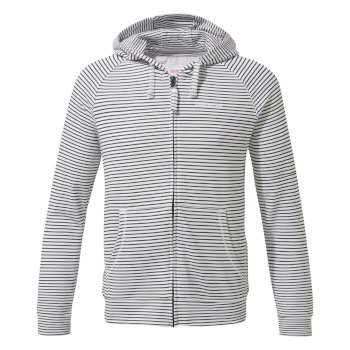 Insect Shield Ryley Hoody - Blue Navy Stripe