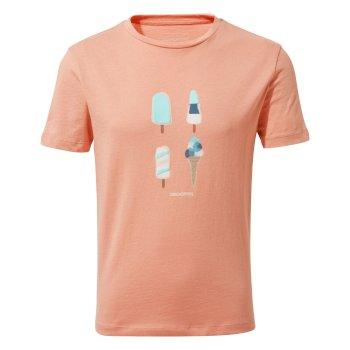 Ravenna Short-Sleeved T-Shirt Ice Cream Rosette Ice Cream
