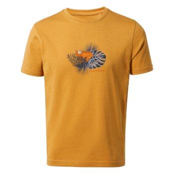 Rubens Short Sleeved T-Shirt - Golden Yellow