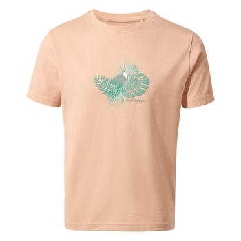 Olga Short Sleeved T-Shirt - Corsage Pink