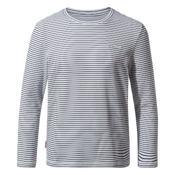 Nosilife Jago Long Sleeved T-Shirt - Blue Navy Stripe