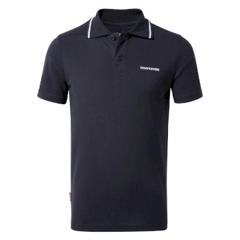 Nosilife Morra Short Sleeve Polo - Blue Navy