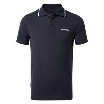 Nosilife Morra Short Sleeve Polo - Blue Navy
