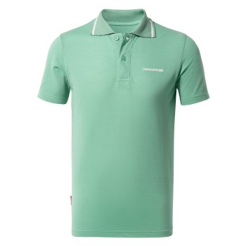 Nosilife Morra Short Sleeve Polo - Sea Breeze