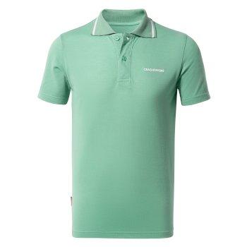 Nosilife Morra Short Sleeve Polo - Sea Breeze