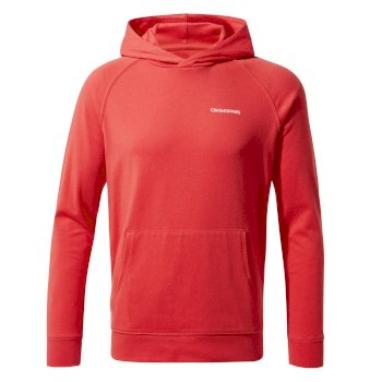 Kids' Insect Shield® Bonito Hooded Top - Rio Red