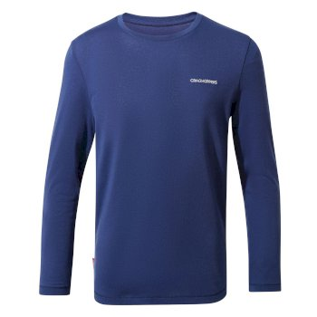 Kids' Insect Shield® Jago Long-Sleeved T-Shirt - Lapis Blue