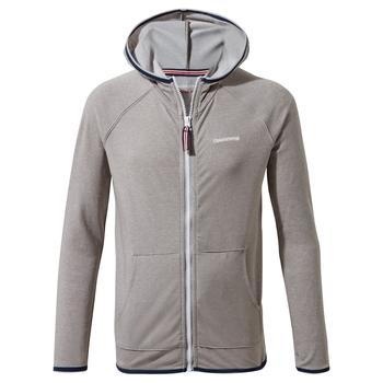 NosiLife Symmons Hooded Jacket - Soft Grey Marl