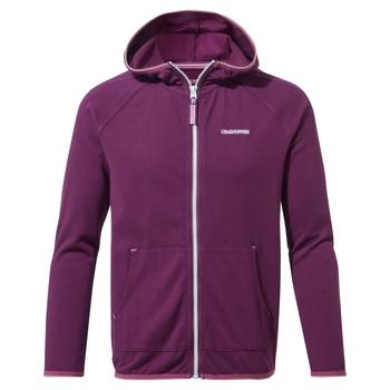 NosiLife Symmons Hooded Jacket - Blackcurrant