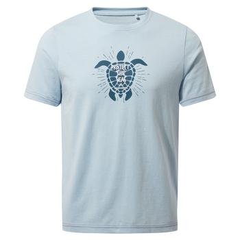 Gibbon Short Sleeved T-Shirt - Harbour Blue Turtle