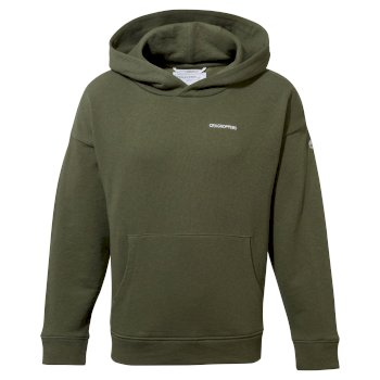 NosiBotanical Madray Hooded Top - Parka Green