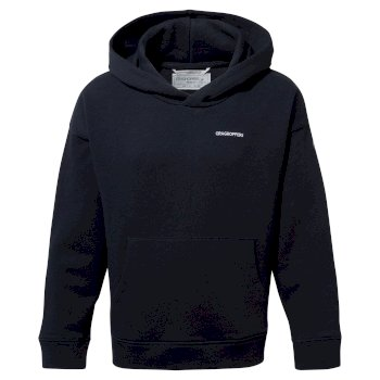 NosiBotanical Madray Hooded Top - Blue Navy
