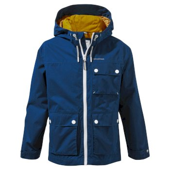 Kids' Finley Jacket - Poseidon Blue